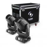2x 15R Moving Head Hybrid 3IN1 BEAM, WASH, SPOT + CASE
