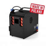 FOG MACHINE / GEIZER + 6X10W 4in1 LED DMX