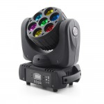 LED MOVING HEAD  BEAM 7x15W RGBW 4in1 OSRAM 8° - 7 Sections