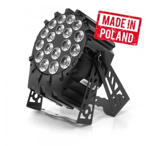 LED PAR 64 18x10W 4in1 RGBW SHORT Mk2