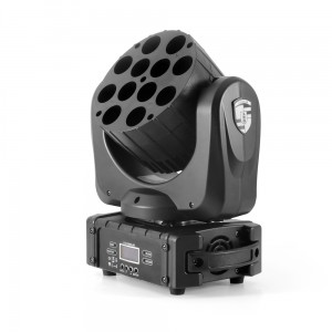 LED Moving Head BEAM 12x12W 4in1 RGBW CREE