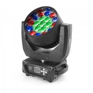 4x LED Moving Head 19x15W RGBW ZOOM - 3 sections (SET)