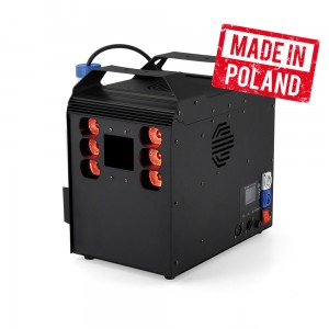 FOG MACHINE / GEIZER + 6X10W 4in1 LED DMX - 2 Versionen