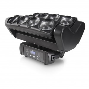 LED Spyder Moving Head 8x10W CREE 4in1