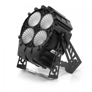 LED PAR 64 4x30W 4w1 COB RGBW SHORT - 4 sections Mk2
