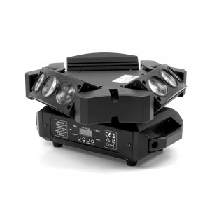 LED Mini Moving Head 9x12W Spyder -3-Sided