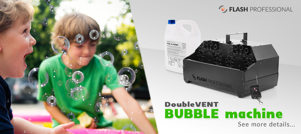 Flash BUBBLE machine