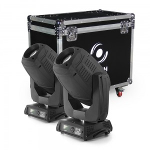 2x LED Moving Head 330 CMY (ZESTAW)