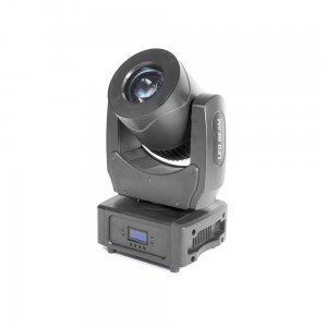 4x LED MOVING HEAD BEAM 80W + CASE