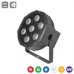 LED PAR 56 7x15W RGBWA+UV 6in1