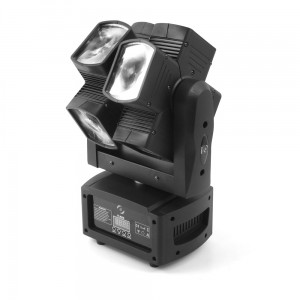 LED MOVING HEAD DOUBLE X 120 8x15W
