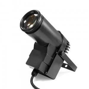 LED PIN SPOT 12W RGBW 4in1 CREE DMX v.II